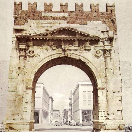 arcul de triumf al lui Augustus la Rimini