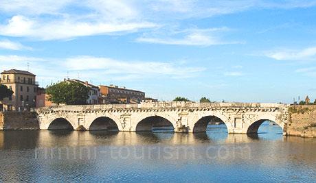 Podul lui Tiberius - Rimini